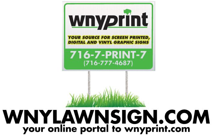 WNYLAWNSIGN com   Buffalo and WNY's Number One Printing